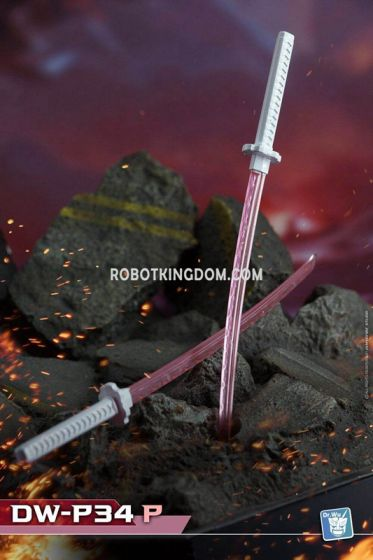 [Dr Wu] DW-P34P DOUBLE POLE SWORDS (Pink). Available Now!