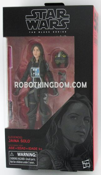 """Star Wars Black Series 6"""" Jaina Solo. Available Now!"""