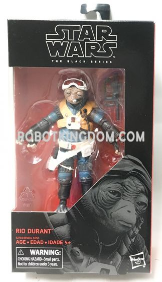 """Star Wars: The Black Series 6"""" Rio Durant. Available Now!"""
