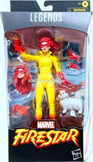 "Marvel Legends 6"" Marvel Legends Firestar with Ms. Lion figure. Available Now!"