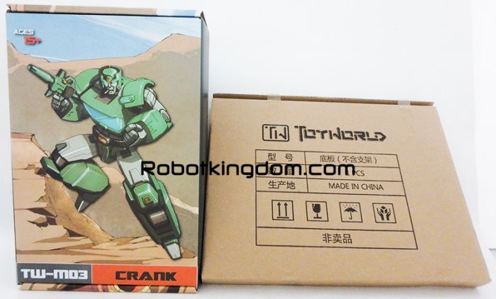 Toy World TW-M03 Crank. Available Now!