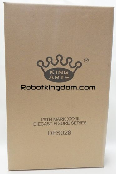 King Arts - 1/9 Diecast Figure Series - DFS028- Iron Man Mark 33. Available Now!