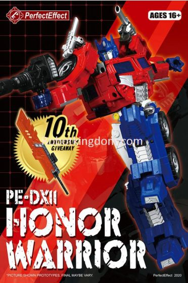 Prefect Effect PE-DX11 HONOR WARRIOR. Start Shipping Now.