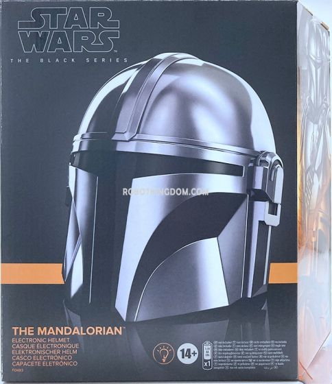 Star Wars The Black Series 1:1 THE MANDALORIAN ELECTRONIC HELMET. Available Now!