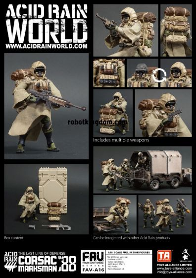 Acid Rain FAV-A16 Corsac Marksman. Preorder. Available in End of July 2020.