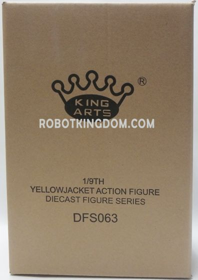 King Arts - 1/9 Diecast Figure Series -DFS063- Yellow Jacket. Available Now!