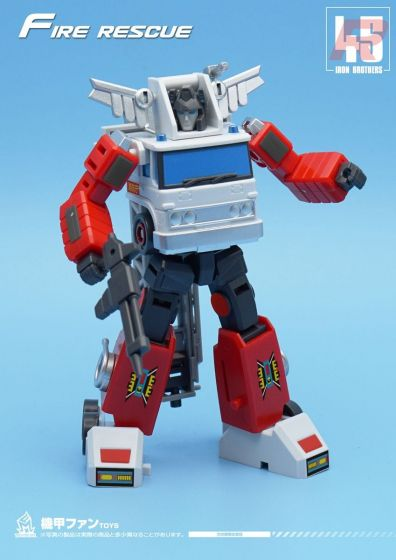 Mech Fans TOYS MF-45R Fire Rescue. Preorder. Available in 3rd Quarter 2021.