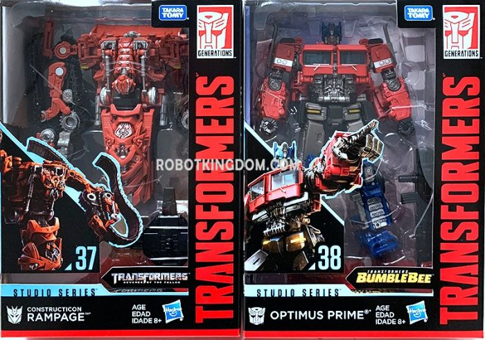 Hasbro Transformers Studio Series VOYAGER Wave 6 set of 2. (Optimus Prime, Rampage). Available Now!