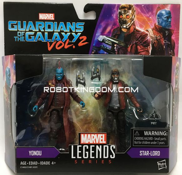 Marvel Legends 2017 3.75 inch Legend Movie wave 1 Starlord & Yondu. Available Now!