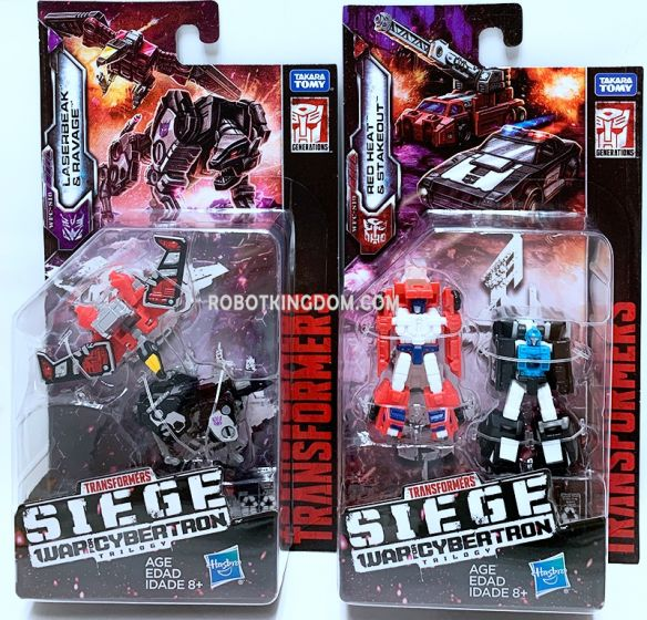 Generations 2019 Siege of cybertron Micromasters Wave 2 set of 2 (RESCUE, SPY). Available Now!