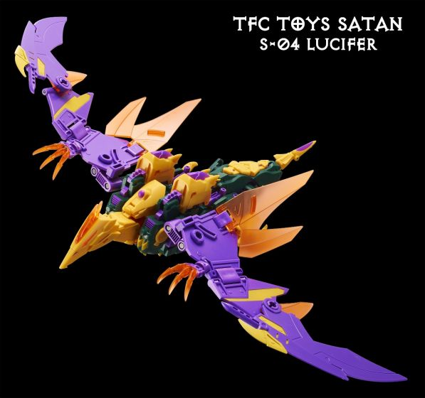 TFC TOYS S04 combiner SATAN-Lucifer. Preorder. Available in 2nd Quarter 2021.