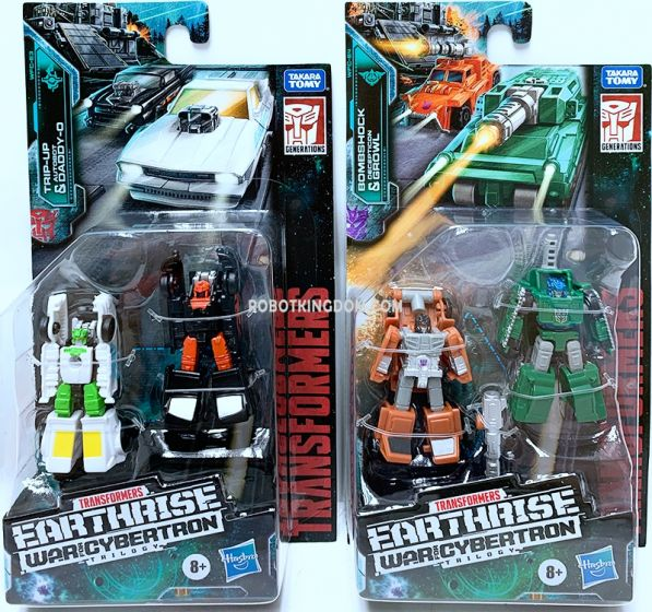 Transformers Generations Earthrise Micromaster set of 2 (MILITARY PATROL, HOT ROD PATROL). Available Now!