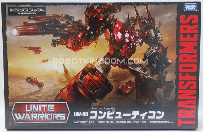 Transformers United Warriors UW-08 Computron with Exclusive coin. Available Now!