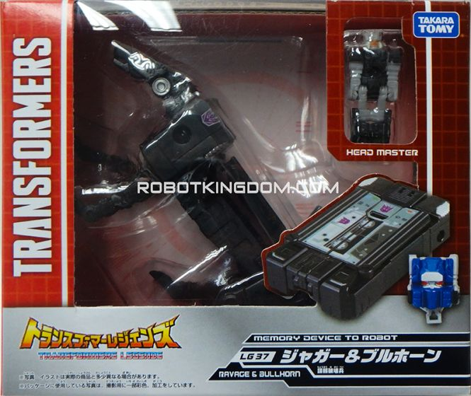Transformers Legends LG-37 Jaeger & Bluehorn. Available Now!