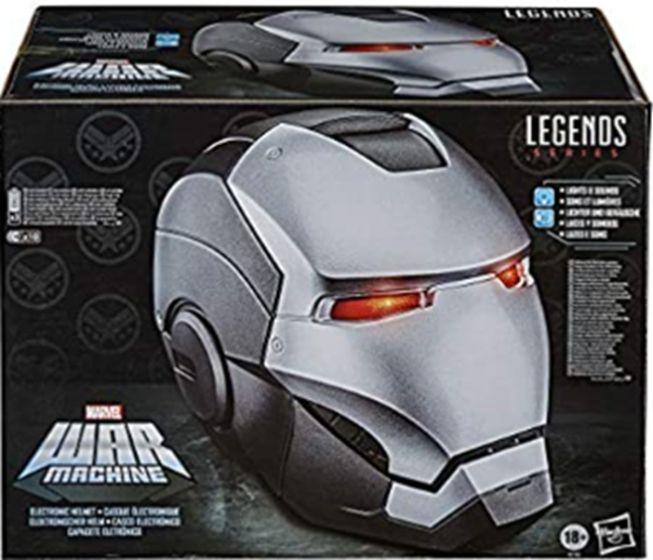Marvel Legends Avengers GEAR WAR MACHINE HELMET. Available Now!