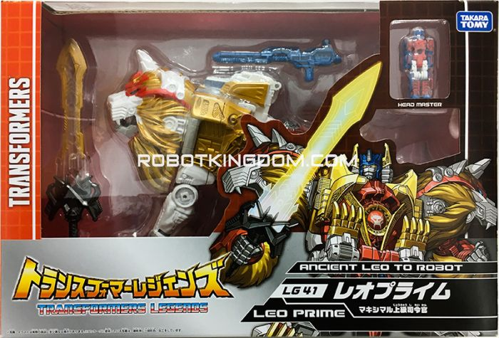 Transformers Legends LG-41 Leo Prime / Lio Convoy. Available Now!