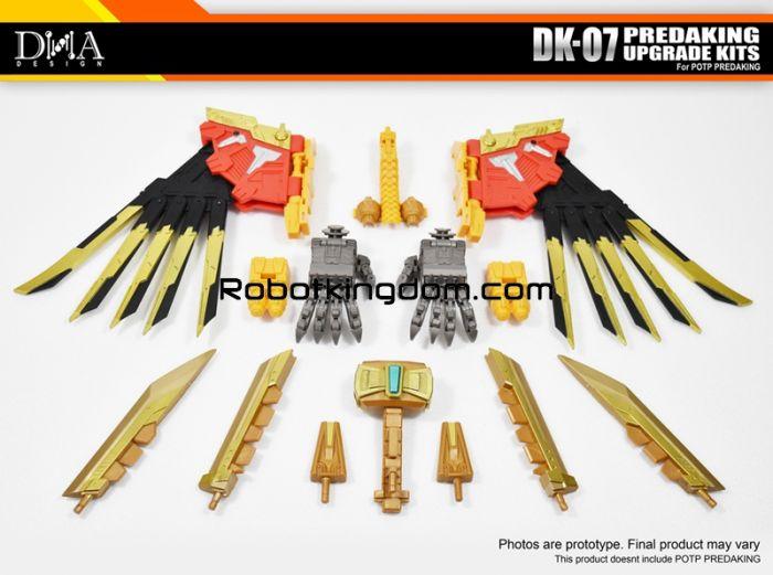 DNA Design DK-07 POTP PREDAKING Upgrade Kit. Available Now!