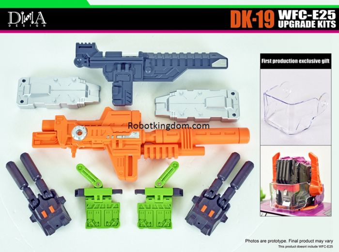 DNA DESIGN DK-19 WFC-E25 UPGRADE KITS. Preorder. Available in Jan 2021.