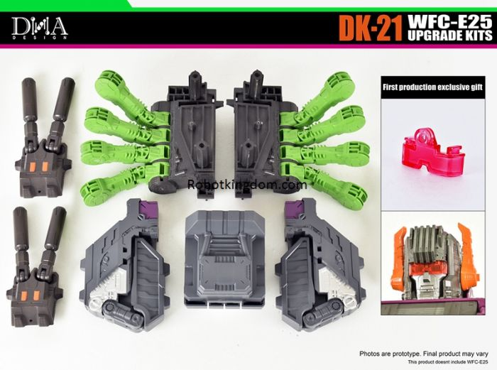 DNA DESIGN DK-21 WFC-E25 UPGRADE KITS. Preorder. Available in Feb 2021.