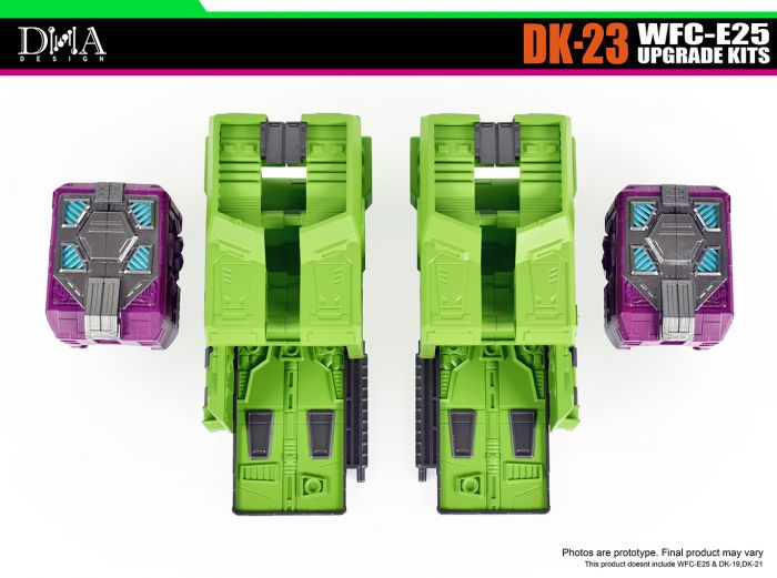 DNA DESIGN DK-23 WFC-E25 UPGRADE KITS. Preorder. Available in August 2021.