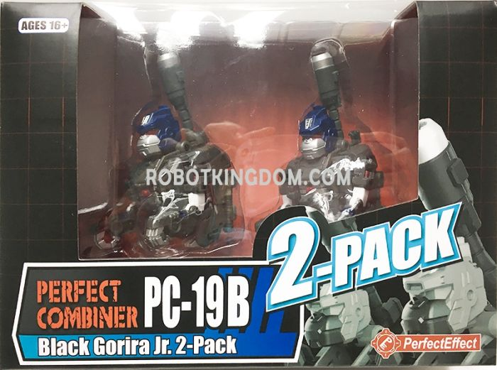 Perfect Effect PC-19B Black Gorira Jr. 2-pack. Available Now!