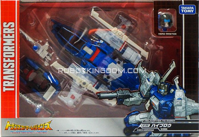 Transformers Legends LG-33 - Highbrow. Available Now!
