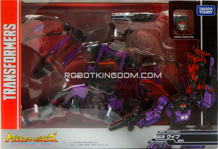 Transformers Legends LG-34 - Mindwipe. Available Now!