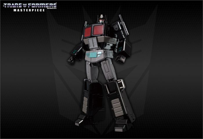 Takara Transformers Masterpiece MP-49 Black Convoy with exclusives gift. Preorder. Available in End of July 2020.