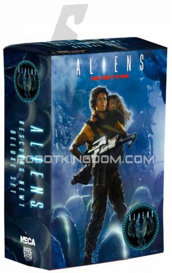 "NECA - Aliens - 7"" Scale Action Figure - 30th Anniversary Ripley & Newt Deluxe 2 Pack. Available Now!"