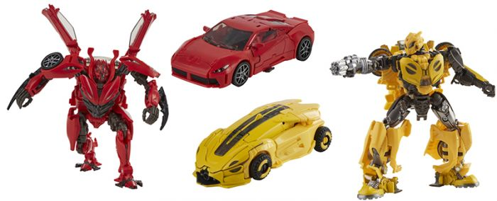 Hasbro Transformers Studio Series DELUXE 70 Bumblebee and 71 Dino Set of 2. Preorder. Start Shipping 1st July 2021.