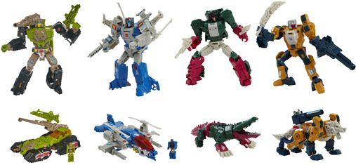 Transformers Generations DELUXE HEADMASTERS RETRO Wave 2 set of 4 (HARDHEAD, HIGHBROW, WEIRDWOLF,SKULLCRUNCHER). Preorder. Start Shipping on 1st June 2021.