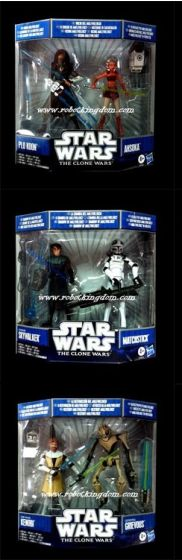 Hasbro Star Wars 2010 Malevolence Sealed Set of 3.