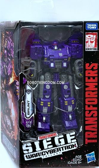 Transformers Generations DELUXE Wave 3 BRUNT SOLID. Available Now!