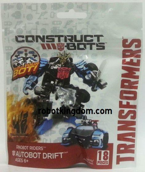 Movie 4 Construct Bots Dinobot Riders Autobot Drift.