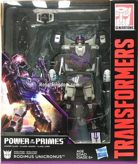 Generations 2018 Power of the Prime LEADER Rodimus Unicronus. Available now.