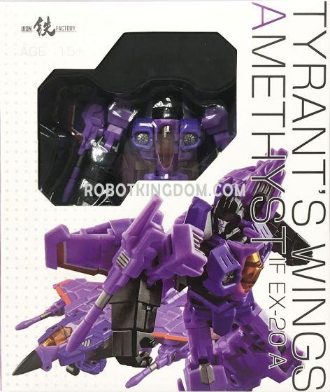 Iron Factory IF-EX20A Tyrant's Wings Amethyst. Available Now!