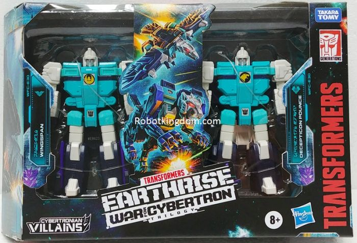 Transformers Earthrise Cybertronian Villians Wingspan and Pounce 2pack. Available Now.
