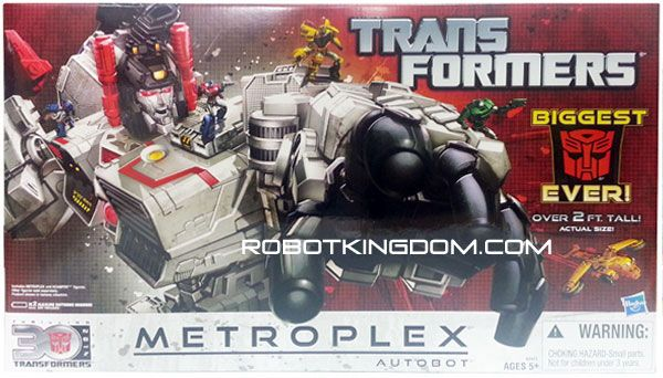 Hasbro Transformers Fall of Cybertron Metroplex. Available Now !