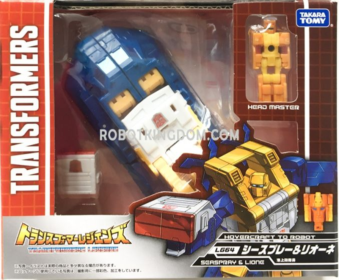 Transformers Legends LG-64 SEASPRAY & LION. Available Now!