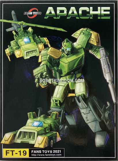 Fans Toys FT-19 Apache. Available Now!