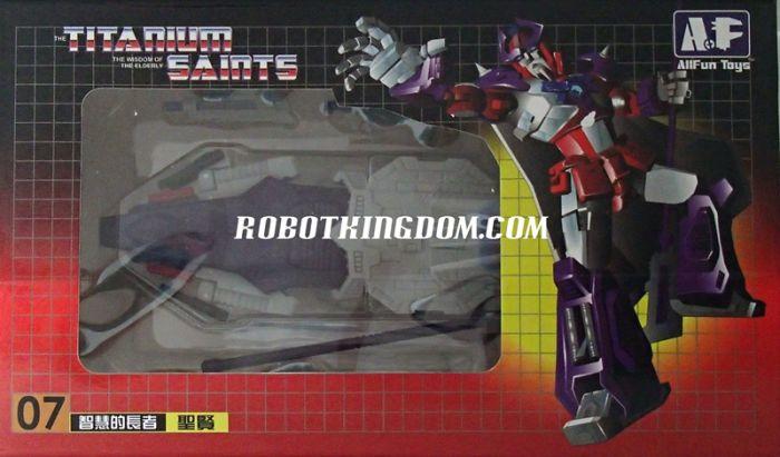 AFT Toys AFT-07 Titanium Saints. Available Now!