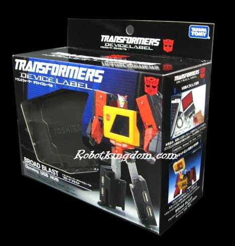 Takara Transformers Device Label - Transforming USB Hub - Blaster. Available Now!