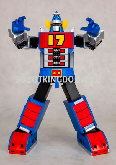 ACTION TOYS Diecast Action Figure - Daitetsujin 17. Preorder. Available in August 2017.