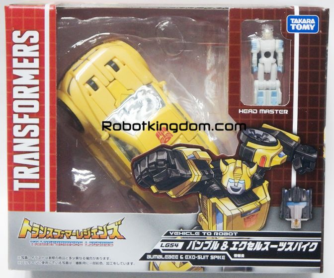 Transformers Legends LG-54 BUMBLEBEE & EXO-SUIT SPIKE. Available Now!
