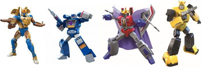 Transformers Generations MOVIE ACCURATE Wave 2 case of 6.  (G1 SOUNDWAVE,  BW CHEETOR,  G1 STARSCREAM and G1 BUMBLEBEE). Preorder. Start Shipping on 1st March 2021.
