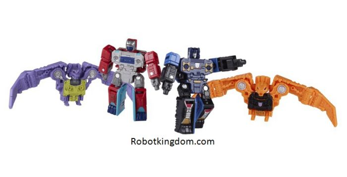 Transformers Generations Selects Micro Masters Spy Patrol (Rerun). Available Now!