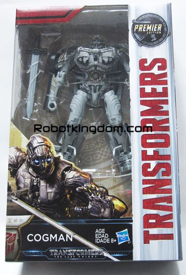 Transformers Movie 5 - The Last Knight Premier Deluxe Cogman. Available Now!