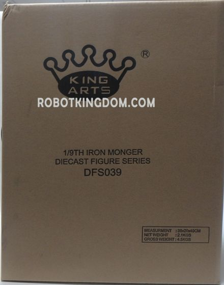 King Arts - 1/9 Diecast Figure Series * DFS039 * Diecast Action Monger. Available Now!