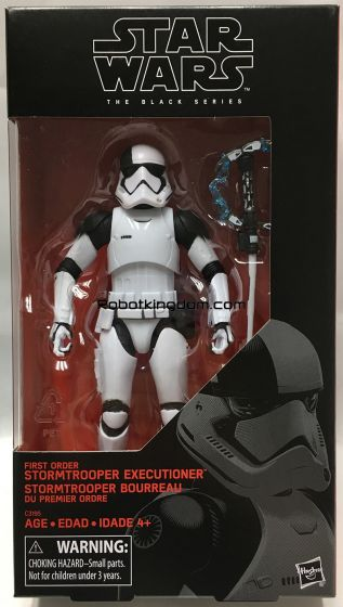 """Target Exclusive STAR WARS: Episode VIII – The Last Jedi Black Series 6"""" First Order Stormtrooper Executioner. Available Now!"""