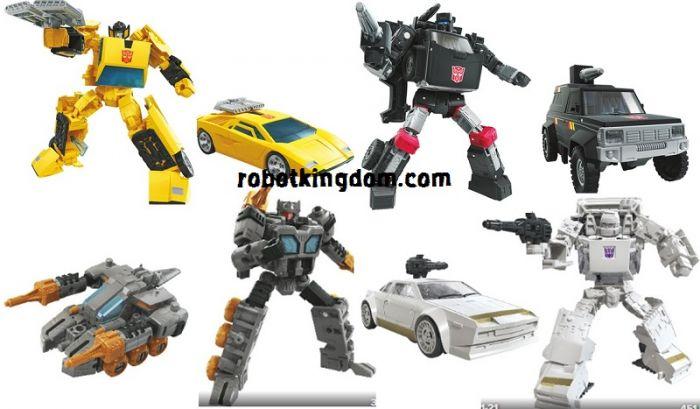 Transformers Generations Earthrise 2020 Deluxe Wave 3 set of 4 (FASTTRACK, TRAILBREAKER, SUNSTREAKER, RUNAMUCK).